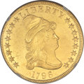 Early Eagles, 1796 $10 BD-1, R.4 -- Obverse Repaired -- NGC Details. AU....