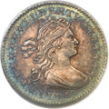 Early Half Dimes, 1796 H10C LIKERTY, V-1, LM-1, R.3, MS62 NGC....