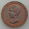 Philippines, Philippines: Alfonso XIII copper Manila Railroad Medal 1891 AU/UNC,...
