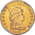 Early Quarter Eagles, 1806/5 $2 1/2 7x6 Stars, BD-2, High R.5 -- Improperly Cleaned --NGC Details. AU....