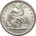 1866-S 50C No Motto -- Improperly Cleaned -- NCS. Unc Details....(PCGS# 6315)