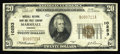 National Bank Notes:Virginia, Marshall, VA - $20 1929 Ty. 1 Marshall NB & TC Ch. # 10253. Apleasing Fine-Very Fine example from the only bank to ...
