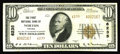 National Bank Notes:Virginia, Norton, VA - $10 1929 Ty. 2 The First NB Ch. # 6235. This ExtremelyFine note enters the census from here for the f...
