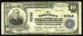National Bank Notes:Virginia, Parksley, VA - $10 1902 Plain Back Fr. 634 The Parksley NB Ch. #6246. A tough note from this small eastern shore commun...