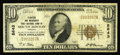 National Bank Notes:Virginia, South Boston, VA - $10 1929 Ty. 1 Planters & Merchants First NBCh. # 8643. While this bank is not especially scarce in ...
