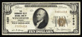 National Bank Notes:Virginia, Winchester, VA - $10 1929 Ty. 1 The Shenandoah Valley NB Ch. #1635. An early chartered Virginia bank with one of the m...