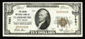National Bank Notes:West Virginia, Clarksburg, WV - $10 1929 Ty. 1 The Union NB Ch. # 7681. A newaddition to the census in an attractive Choice About Un...