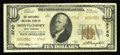 National Bank Notes:West Virginia, Montgomery, WV - $10 1929 Ty. 2 The Merchants NB Ch. # 9740. Thisaddition to the census is only the eighth 1929 exampl...