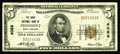 National Bank Notes:West Virginia, Piedmont, WV - $5 1929 Ty. 1 The Davis NB Ch. # 4088. This bank is also tough in Small Size. Fine....