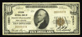 National Bank Notes:West Virginia, Point Pleasant, WV - $10 1929 Ty. 1 Citizens NB Ch. # 13231. Thisbank did not receive its federal charter until 1928 a...