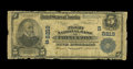 National Bank Notes:West Virginia, Princeton, WV - $5 1902 Plain Back Fr. 599 The First NB Ch. #(S)8219. You can chalk this $5 with serial number 10199 up...