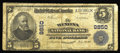 National Bank Notes:West Virginia, Winona, WV - $5 1902 Plain Back Fr. 601 The Winona NB Ch. # 9850.This new addition to the Kelly census brings the total...