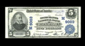 National Bank Notes:Wisconsin, Watertown, WI - $5 1902 Plain Back Fr. 600 The Merchants NB Ch. # (M)9003. Here is a nicely centered Very Fine-Extrem...