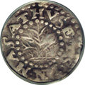 1662 Oak Tree Twopence VF20 PCGS. Small 2. Breen-35. Noe-30. 11.8 grains. Although the Oak Tree twopence pieces dated 16...