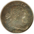 Large Cents: , 1799 1C VG8 PCGS. S-189. Die State IV. Dark olive surfaces withmoderate porosity on both sides as so often seen on early c...