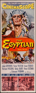 "Movie Posters:Historical Drama, The Egyptian (20th Century Fox, 1954). Insert (14"" X 36"").Historical Drama.. ..."