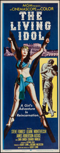 "Movie Posters:Adventure, The Living Idol (MGM, 1956). Insert (14"" X 36""). Adventure.. ..."