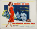 "Movie Posters:War, The Angel Wore Red (MGM, 1960). Half Sheet (22"" X 28"") Style A.War.. ..."