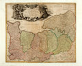Books:Maps & Atlases, [Map]. Original Hand-Colored Engraved Map: Carte de Normandie. [N.p., n.d., circa 1780]. ...