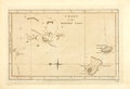 Books:Maps & Atlases, [Map]. Original Black and White Engraved Map: Chart of the Friendly Isles. London: Wm. Strahan, 1777. ...