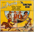 "Movie Posters:Western, The Cactus Kid (William Steiner, 1935). Six Sheet (76"" X 80""). Western.. ..."