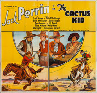 "The Cactus Kid (William Steiner, 1935). Six Sheet (76"" X 80""). Western"