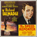 "Movie Posters:Crime, Speed Reporter (Reliable, 1936). Six Sheet (79"" X 80""). Crime.. ..."