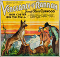 "Movie Posters:Western, Vengeance of Rannah (Reliable, 1936). Six Sheet (77"" X 80""). Western.. ..."