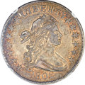 Early Half Dollars, 1802 50C O-101, R.3, AU55 NGC....