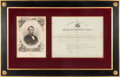 Autographs:U.S. Presidents, Abraham Lincoln: Presidential Appointment. ...