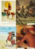 Books:Pamphlets & Tracts, [Western/Southwestern Art]. Group of Four Pamphlets on Westernand/or Southwestern Art. ...