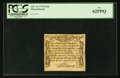 Colonial Notes:Massachusetts, Massachusetts October 16, 1778 4s/6d PCGS New 62PPQ.. ...