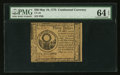 Colonial Notes:Continental Congress Issues, Continental Currency May 10, 1775 $30 PMG Choice Uncirculated 64 EPQ.. ...
