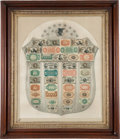 Fractional Currency:Shield, Fr. 1382 Fractional Currency Shield, With Gray Background ExtremelyFine.. ...