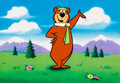 Animation Art:Color Model, Yogi Bear Color Model Cel Animation Art (Hanna-Barbera, c. 1970s)....