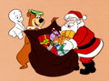 Animation Art:Presentation Cel, Casper's First Christmas Publicity Cel Animation Art(Hanna-Barbera, 1979)....