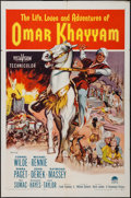 """Movie Posters:Adventure, Omar Khayyam & Others Lot (Paramount, 1957). One Sheets (3)(27"""" X 41""""). Adventure.. ... (Total: 3 Items)"""