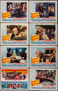 "Movie Posters:Adventure, Prince Valiant (20th Century Fox, 1954). Lobby Card Set of 8 (11"" X14""). Adventure.. ... (Total: 8 Items)"