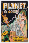 Golden Age (1938-1955):Science Fiction, Planet Comics #56 (Fiction House, 1948) Condition: VG....