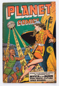 Golden Age (1938-1955):Science Fiction, Planet Comics #59 (Fiction House, 1949) Condition: FN....