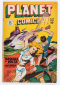 Golden Age (1938-1955):Science Fiction, Planet Comics #60 (Fiction House, 1949) Condition: FN+....