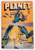 Golden Age (1938-1955):Science Fiction, Planet Comics #48 (Fiction House, 1947) Condition: GD+....