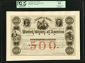 Miscellaneous:Other, United States Loan of 1848 $500 18__ Hessler X119E PCGS Choice New63.. ...