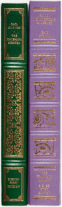 Books:Fine Bindings & Library Sets, Gail Godwin. SIGNED. The Finishing School [together with:] Father Melancholy's Daughter. Franklin Center: Fr... (Total: 2 Items)