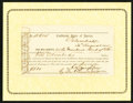 Confederate Notes:Group Lots, Interim Depository Receipt Columbia, (SC)- $500 August 30, 1864Tremmell SC-66.. ...