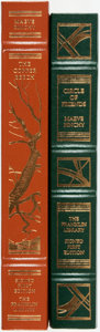 Books:Fine Bindings & Library Sets, Maeve Binchy. Pair of Signed First Editions. Franklin Center: Franklin Library, [various dates]. Publisher's full leather wi... (Total: 2 Items)