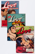 Golden Age (1938-1955):Romance, Love Experiences Group (Ace, 1951-54) Condition: Average VG/FN....(Total: 11 Comic Books)