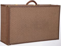Luxury Accessories:Travel/Trunks, Hartmann Wings Brown Canvas Woodbox Pullman Suitcase. ...