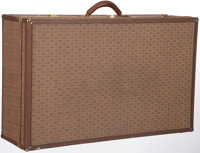 Hartmann Wings Brown Canvas Woodbox Pullman Suitcase