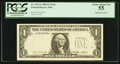 Fr. 1913-J $1 1985 Federal Reserve Note. PCGS Choice About New 55